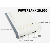 POWERBANK - 20,000mah