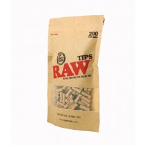 RAW - PREROLLED TIPS (REFILL BAG 200)
