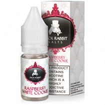 JACK RABBIT NIC SALT 10ml - RASPBERRY WHITE COOKIE