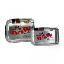 RAW - METALLIC SILVER TRAY (SMALL)