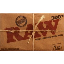 RAW - 300's 1.25 SIZE PAPERS