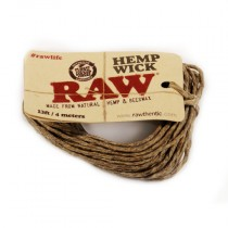 RAW - HEMP WICK 4m