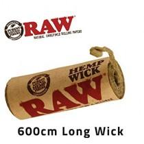 RAW - HEMP WICK 600cm