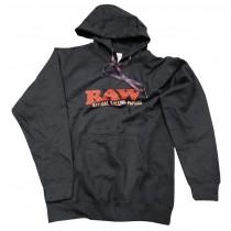 RAW - HOODIE (BLACK)