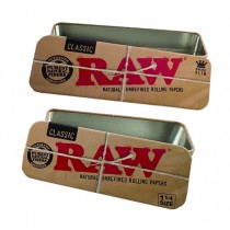 RAW - METAL TIN CADDY (1.25 SIZE)