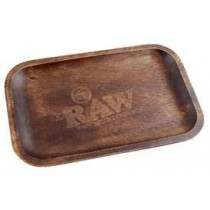 "RAW - WOODEN ROLL TRAY (11""x7"")"