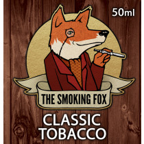 THE SMOKING FOX 50ml SHORTFILL - CLASSIC TOBACCO