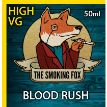 THE SMOKING FOX 50ML HIGH VG - BLOOD RUSH