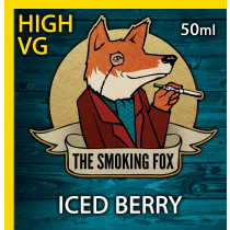 THE SMOKING FOX 50ml HIGH VG - ICED BERRY