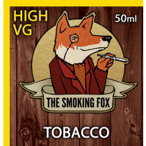 THE SMOKING FOX 50ml HIGH VG - TOBACCO
