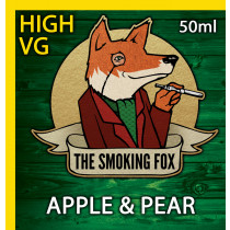 THE SMOKING FOX 50ml HIGH VG - APPLE & PEAR