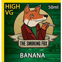 THE SMOKING FOX 50ml HIGH VG - BANANA