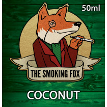 THE SMOKING FOX 50ml SHORTFILL - COCONUT