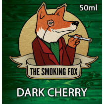 THE SMOKING FOX 50ml SHORTFILL - DARK CHERRY