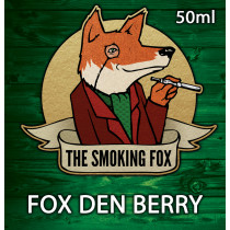 THE SMOKING FOX 50ml SHORTFILL - FOX DEN BERRY