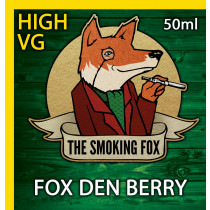 THE SMOKING FOX 50ml HIGH VG - FOX DEN BERRY