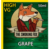 THE SMOKING FOX 50ml HIGH VG - GRAPE