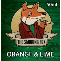 THE SMOKING FOX 50ml SHORTFILL - ORANGE & LIME