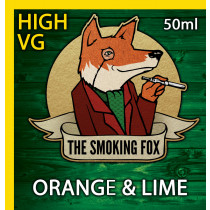 THE SMOKING FOX 50ml HIGH VG - ORANGE & LIME