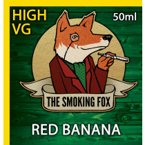 THE SMOKING FOX 50ml HIGH VG - RED BANANA