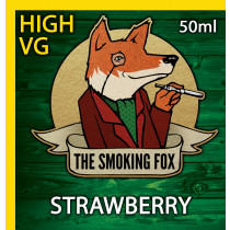 THE SMOKING FOX 50ml HIGH VG - STRAWBERRY