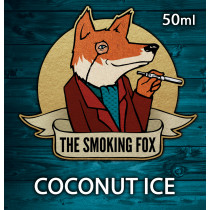 THE SMOKING FOX 50ML SHORTFILL - COCONUT ICE