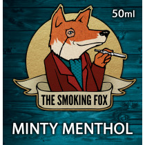 THE SMOKING FOX 50ml SHORTFILL - MINTY MENTHOL