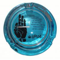 Small Round ASHTRAY - i-pot blue