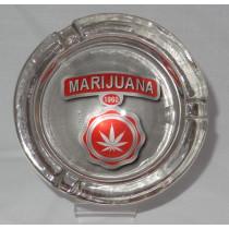 Small Round ASHTRAY - marijuana 1960
