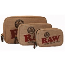 RAW - SMELL PROOF SMOKERS POUCH (LARGE)