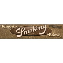 SMOKING KINGSIZE BROWN - UNBLEACHED