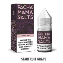 PACHA MAMA - SALT NIC - STARFRUIT GRAPE