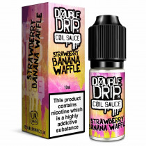 DOUBLE DRIP - STRAWBERRY BANANA WAFFLE 10ml