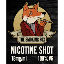 THE SMOKING FOX - NIC SHOT (Pure VG)